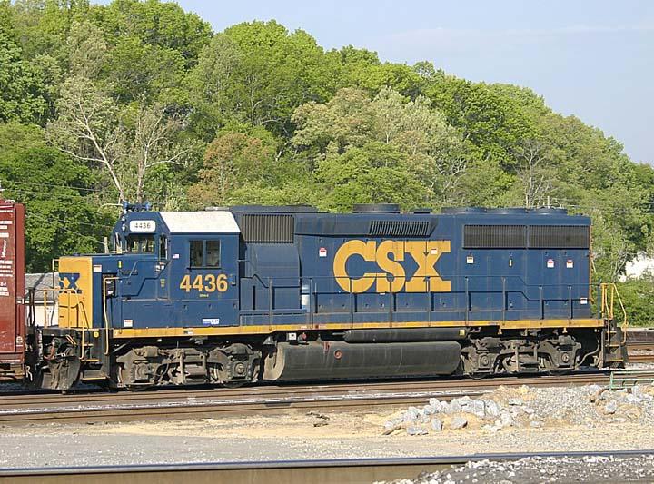 CSX 4436 in Cartersville, Ga.