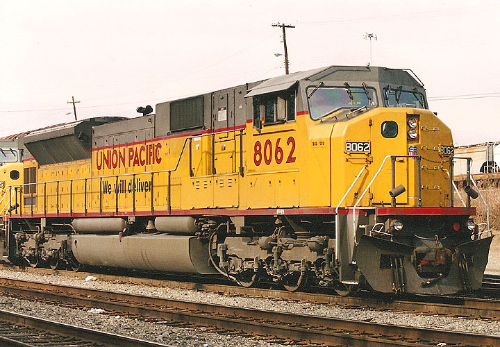 UP 8062 in Atlanta, Georgia