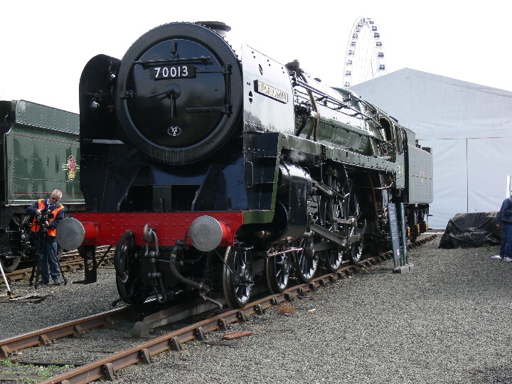 BR 7P Brittania 70013 Oliver Cromwell