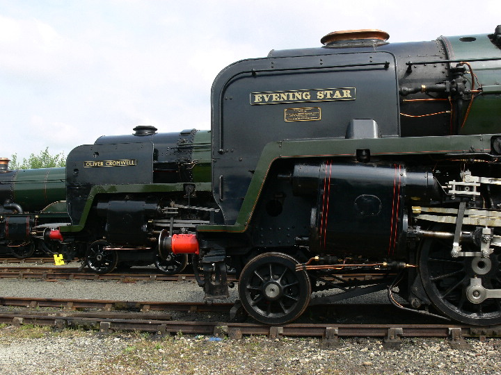 Icons of the end of steam at York