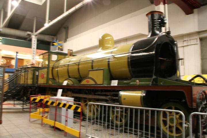 Highland Railway Locomotive No. 103