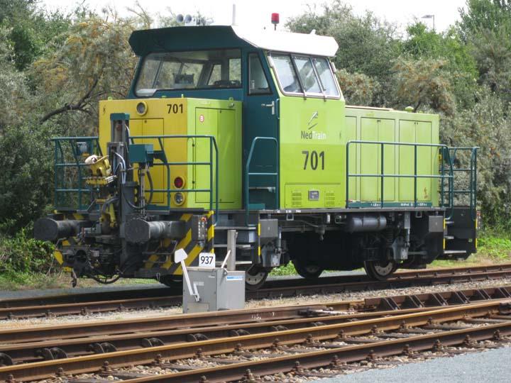 Nedtrain Vossloh Locomotives G 400 B