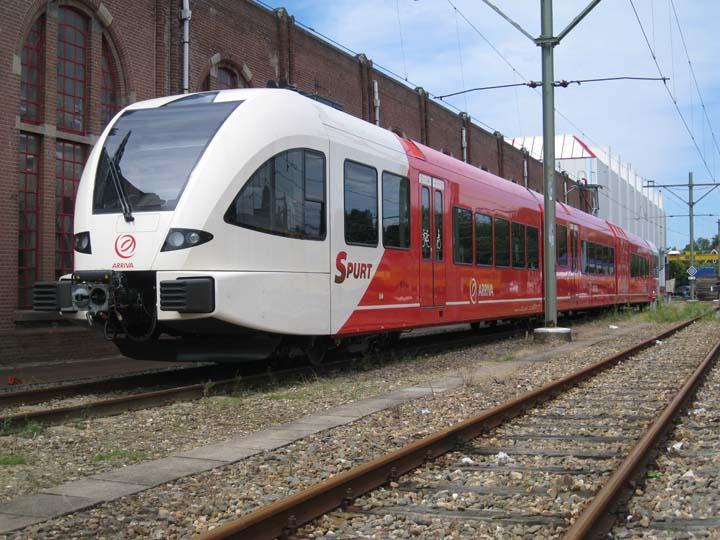 Arriva Spurt 504 at Nedtrain Leidschendam