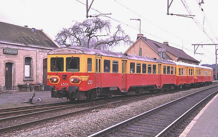 SNCB/NMBS 4501 + PFT/TSP 4333