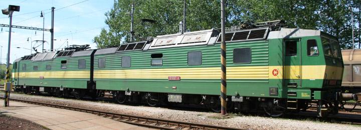 Slovak Class 131 electric locomotives 131037-4