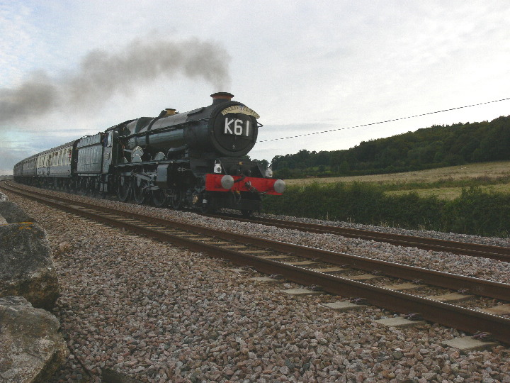 6024 with the Torbay Express near Starcross