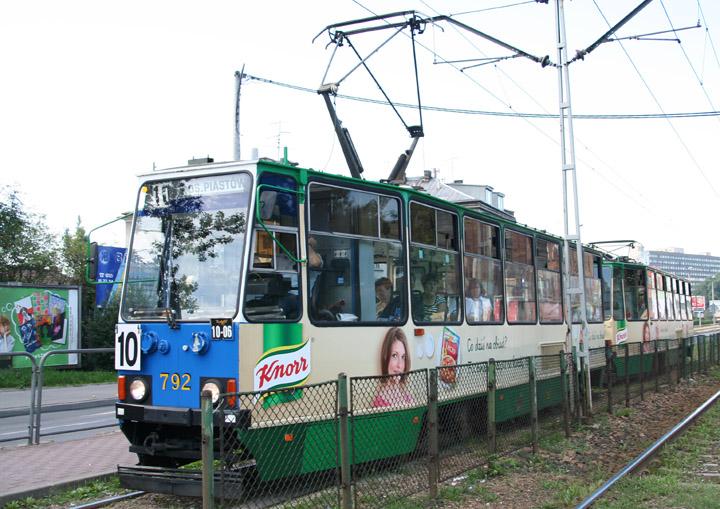Konstal Chorzów 4-axle tram no. 792