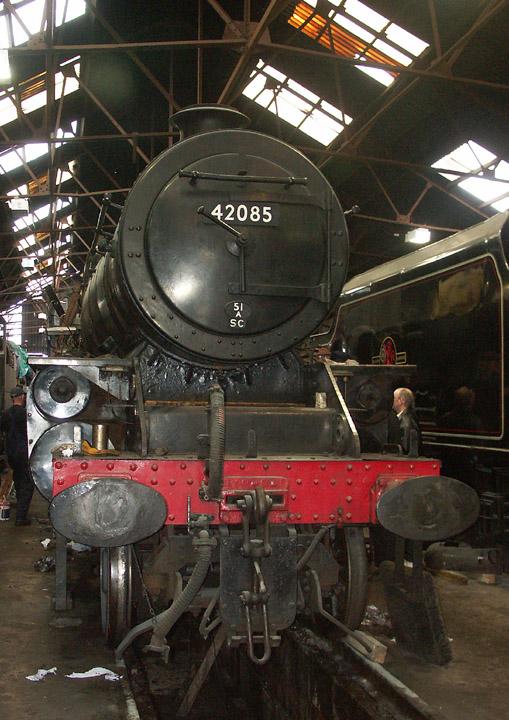 42085, Fairburn 2-6-4T at Loughborough