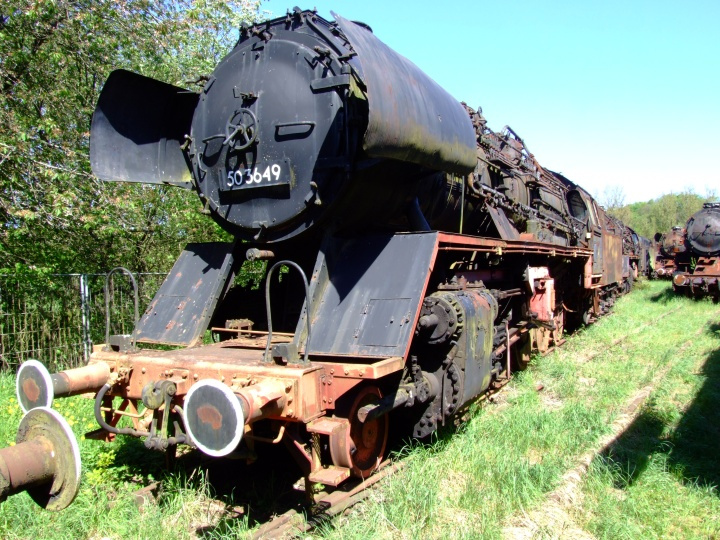 Steam Loc 503649 in Hermeskeil