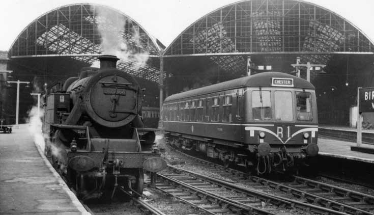 Diesel and Steam at Birkenhead Woodside