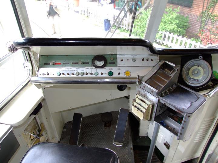 interior photo of the Dutch Tram 1024