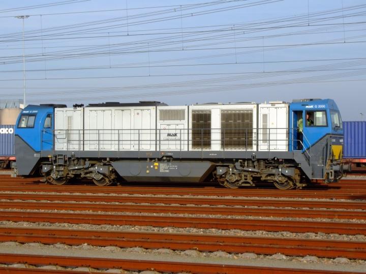 Diesel locomotive Vossloh G 2000BB MaK