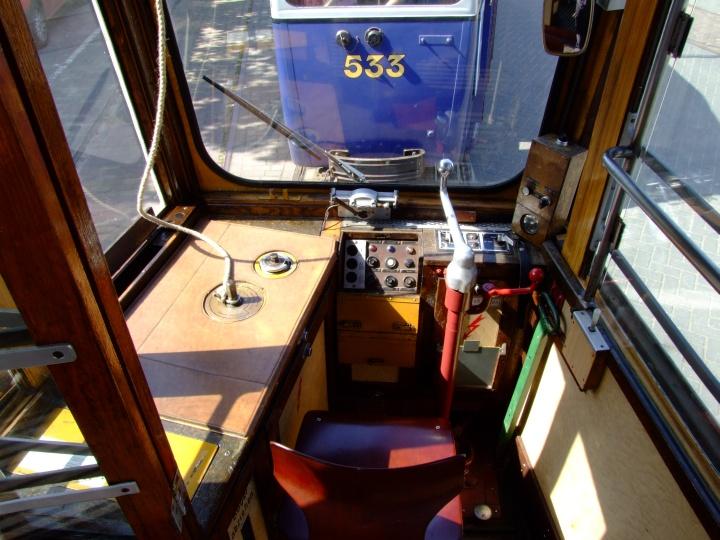 Museum tram 206 Drivers seat