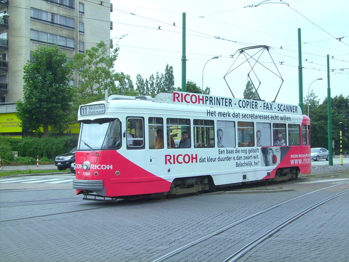 Antwerp PCC car 7004