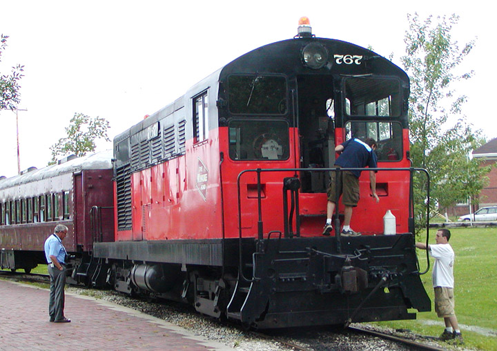 FM H-10-44 No. 767 at the National Railroad Museum