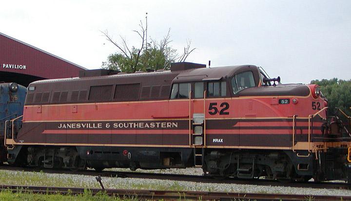 GM EMD BL (Branch Line) Type 2 No. 52