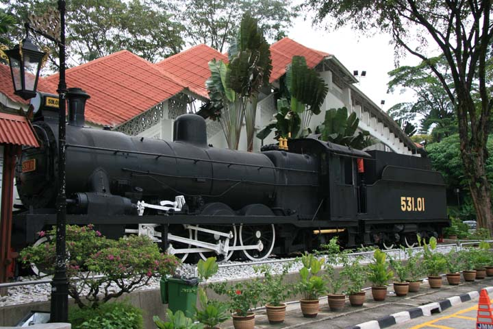 National Museum of Malaysia Steam locomotive