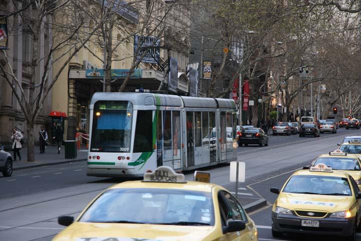 Melbourne C class tram