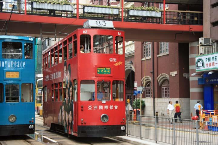 Photo of Hong Kong Double Decker tram