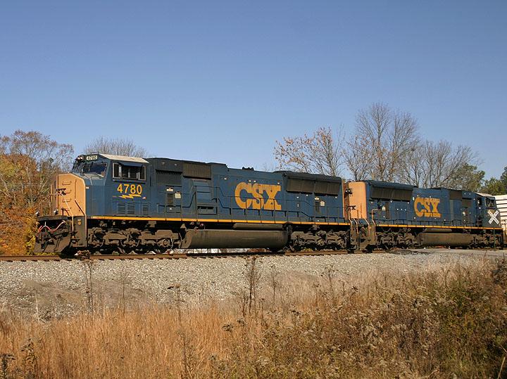 CSX 4780 in Ocoee, TN
