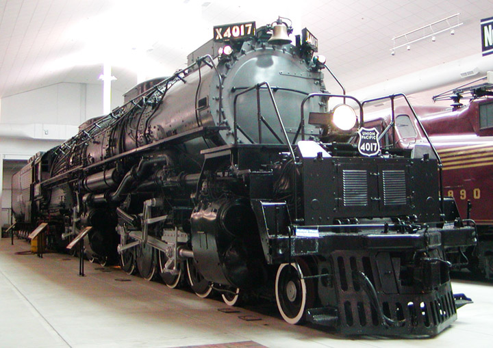 Alco 4-8-8-4 no. X4017 Big Boy
