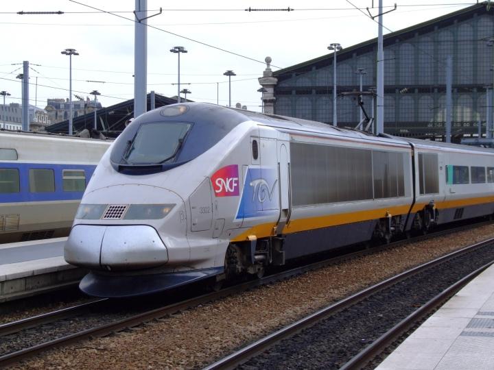 SNCF-TGV-France Train Photos - High speed train SNCF TGV 3302