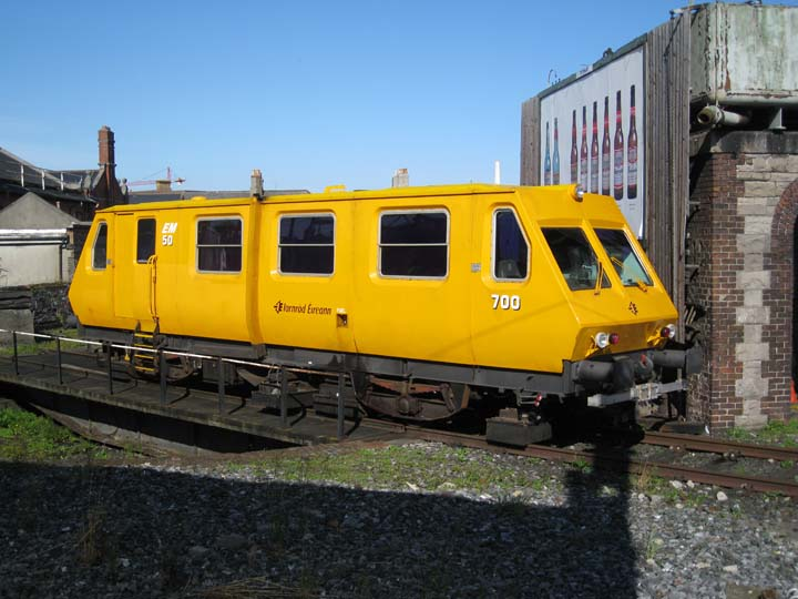 Unknown train at Connolly station Dublin