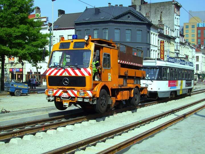 Antwerp PCC car towed away