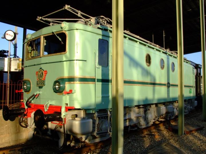 Belfort NS 1122 electric locomotive