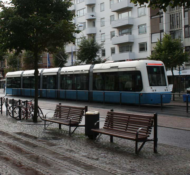 Gothenburg M32 tram
