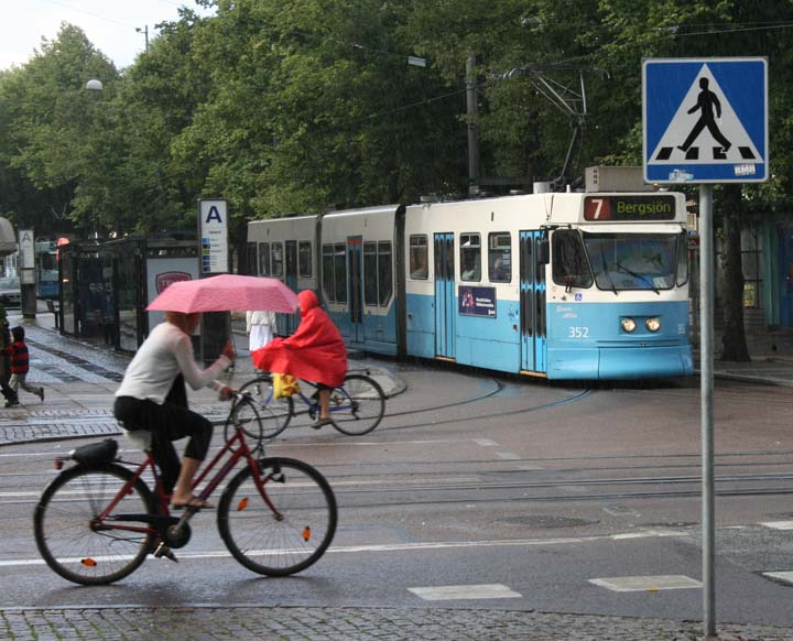 Gothenburg M31 class tram