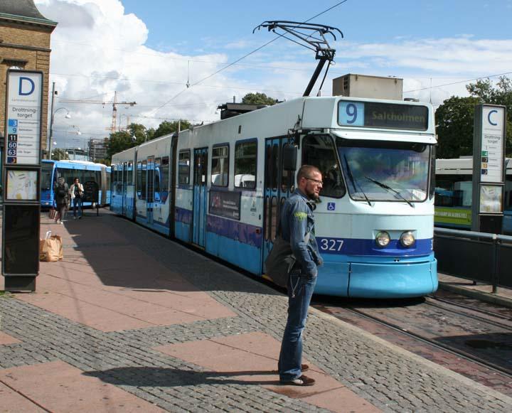 Gothenburg M31 tram Line 9 to Saltholmen
