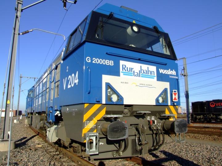 Rurtalbahn V 204 Vossloh locomotive