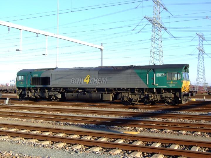 Rail4Chem PB017 Electro Motive Class 66