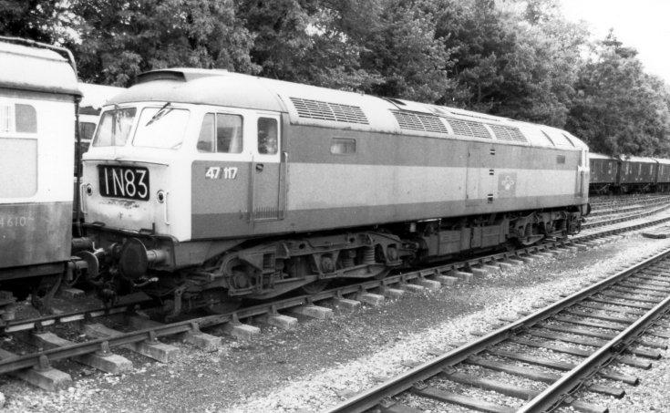 Class 47 diesel-electric locomotive