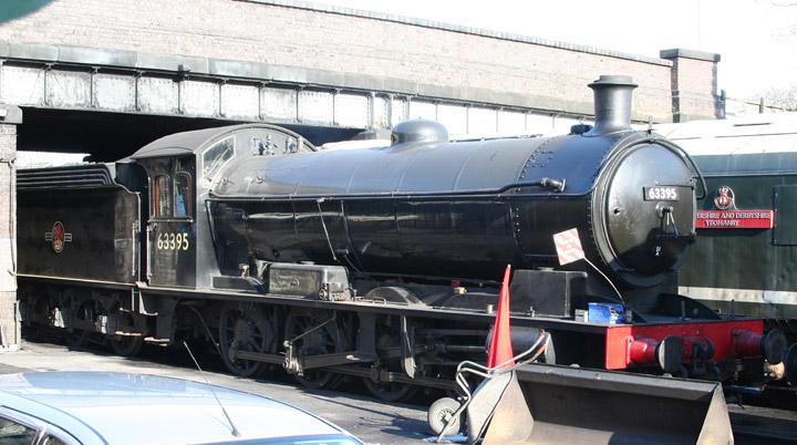 63395, Raven LNER Q6 0-8-0 (NER Class T2)