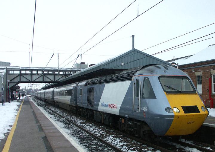 43317, BR Class 43 diesel power car (HST)