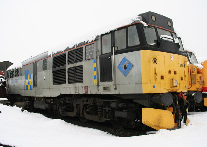 Brush Type 2, BR Class 31 D5801/31271 in the snow