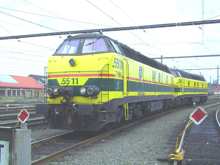 NMBS/SNCB 5511 and 5509