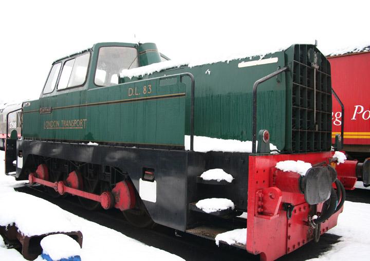 London Transport Sentinel 0-6-0 shunter D.L.83