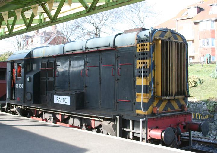 08436, Class 08 350 hp English Electric 0-6-0