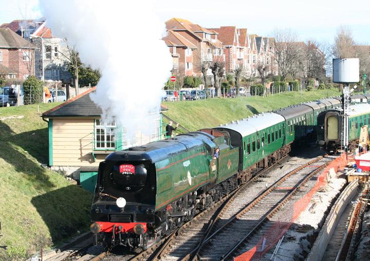 34070 Manston, Battle of Britain Class 4-6-2