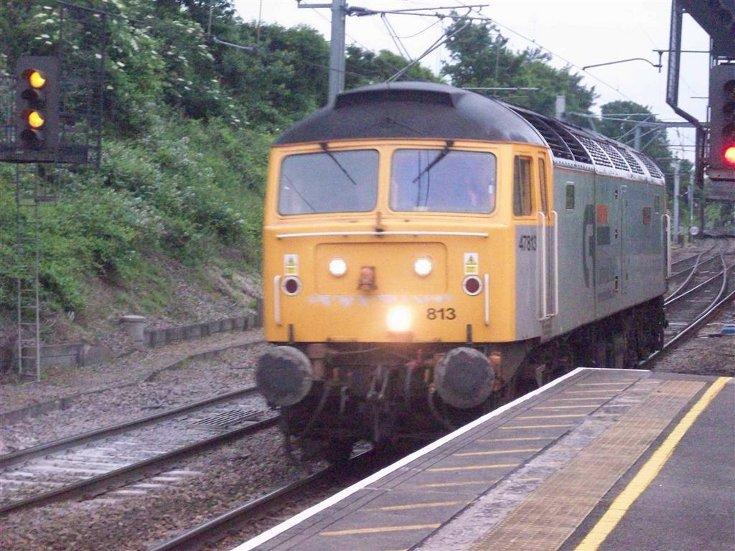 Cotswold Rail - 47813