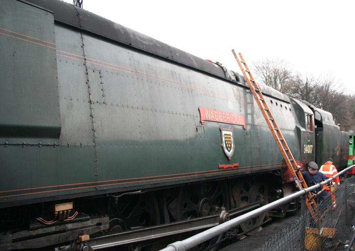 34007 Wadebridge, 'West Country' Class
