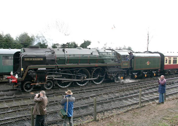 71000 Duke of Gloucester, BR 8P Pacific
