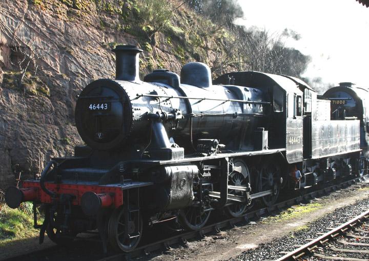 46443, LMS Ivatt Class 2 2-6-0