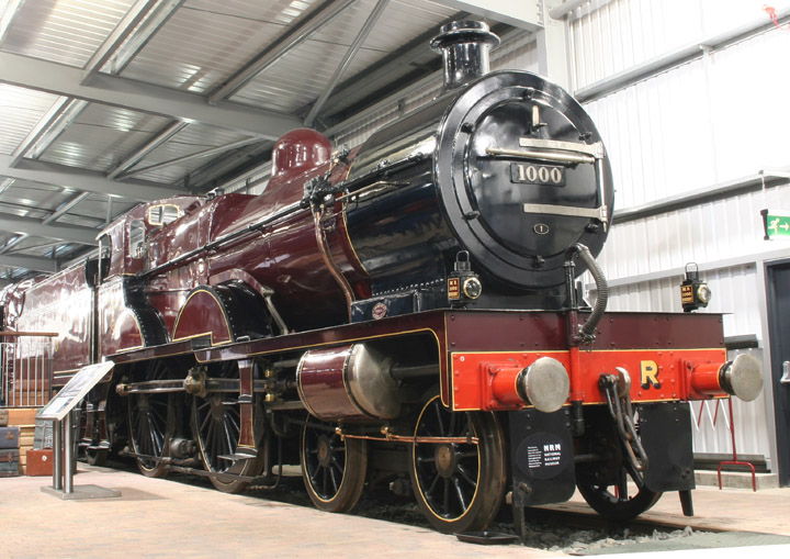 1000, Midland Railway Compound locomotive