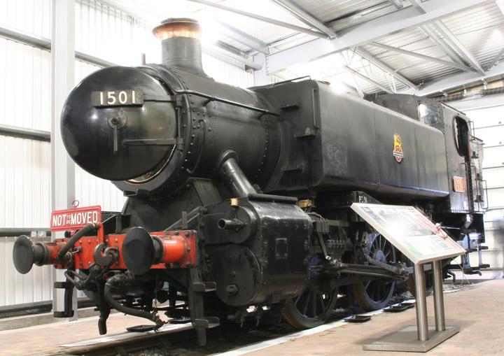 1501, GWR 1500 Class 0-6-0 pannier tank