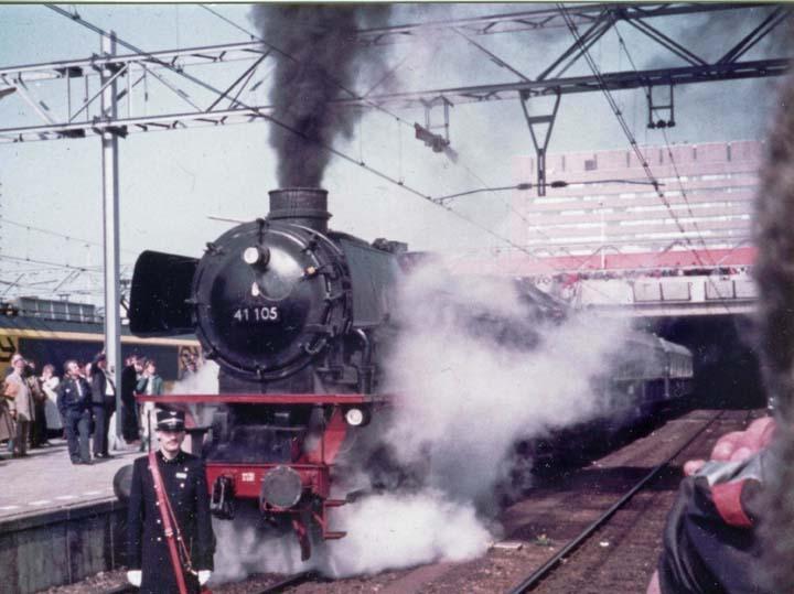 SSN 41 105 Steam locomotive