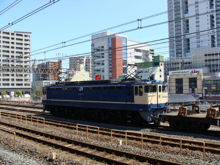 JR Fret electric locomotive
